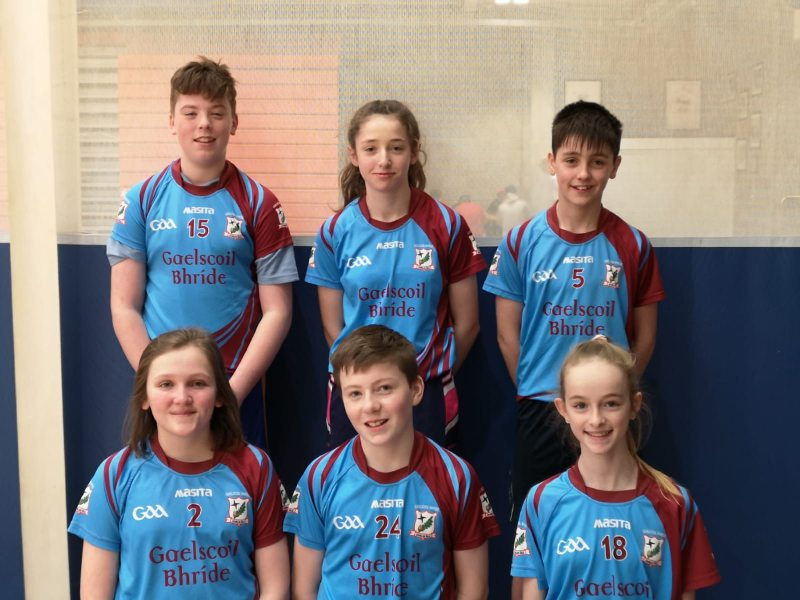 Gaisce na Gaelscoile – Regional winners in Spikeball